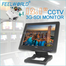 "FEELWORLD 12.1'"" hd explosion proof monitor with 3G-SDI HDMI YPbPr Video"