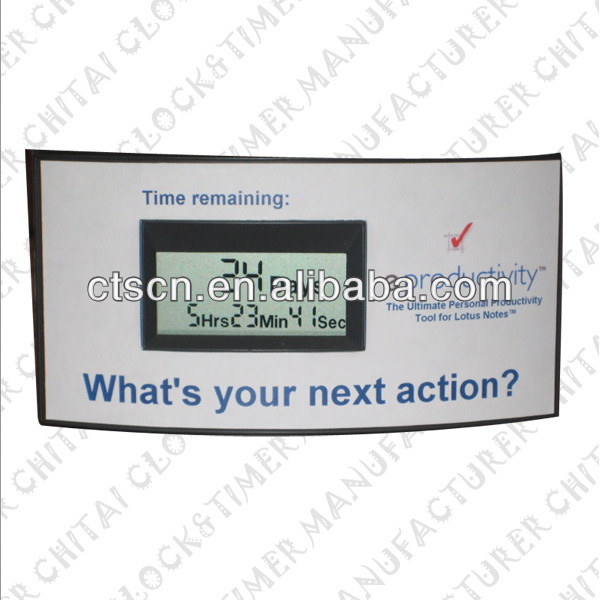 Alibaba Express China Special Design Desk LCD Panel LCD Countdown Timer
