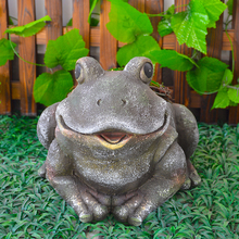 Outdoor Animal craft frog decor for home and garden for sale