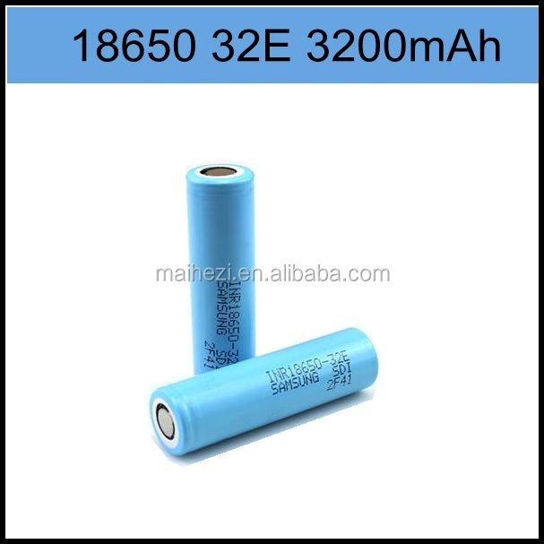 popular products in usa high power samsung battery cell 3.7v 32E 3200mah 35e 3500mah battery 18650