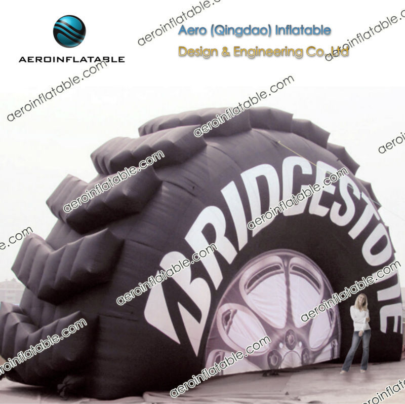 Inflatable tire / Giant inflatable advertising for sales promotion / Inflatable shape