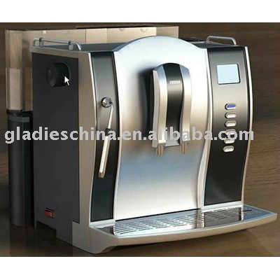 (beans/powder) Full-automatic 19 Bar Espresso Coffee Maker with GS CE ROHS EMC UL.