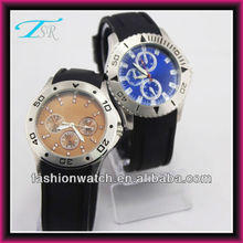 2013 silicone band customer logo is welcome 2035 japan movt wrist watch
