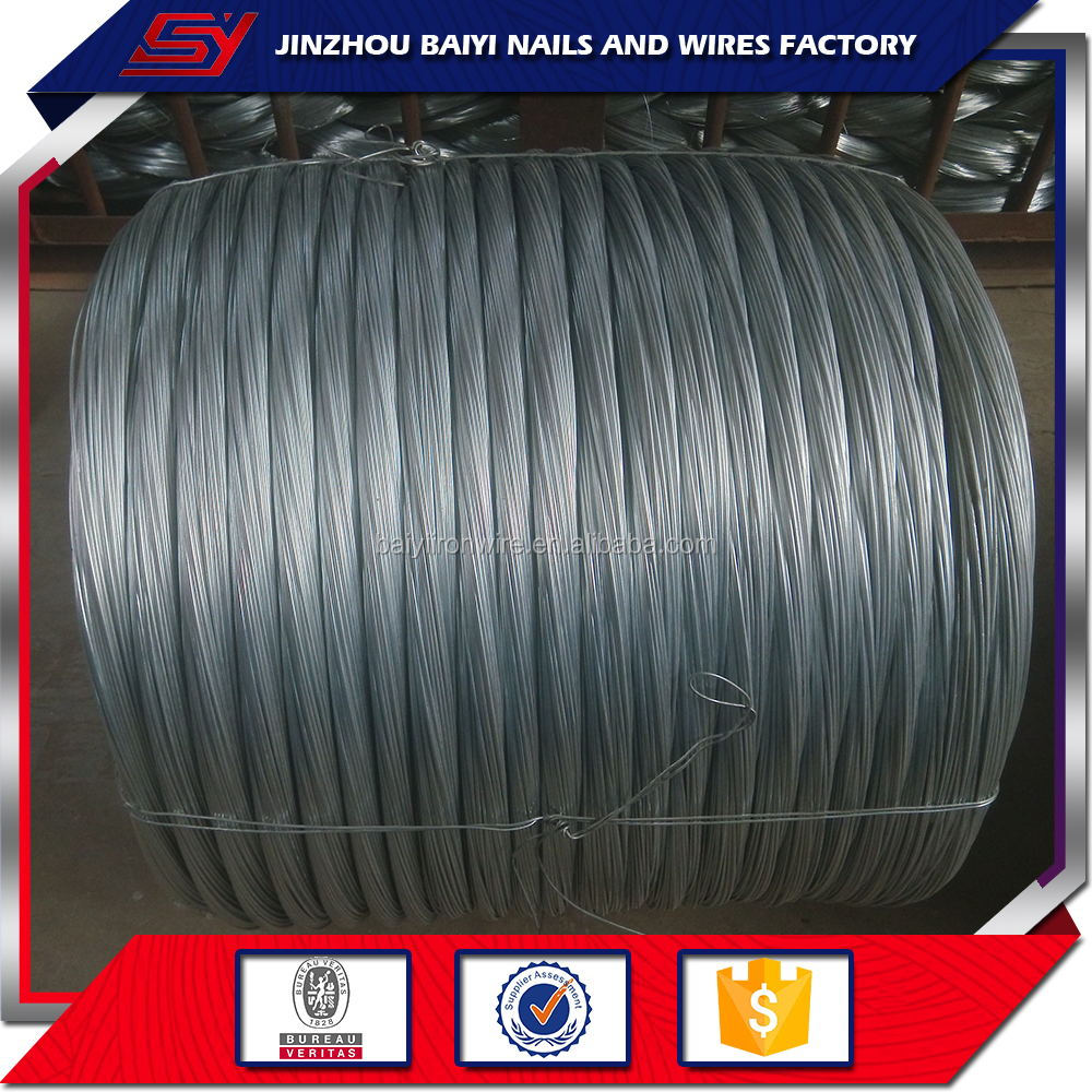 my test 10 Gauge Low Carbon Hot Dipped Galvanized Steel Wire