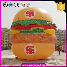 10m giant inflatable burger king ,inflatable burger