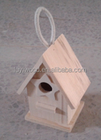 wooden bird nest toys for kids