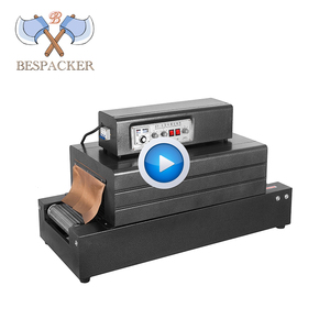 Bespacker shrinking tunnel BS-B300*150 small heat packing machine pet bottle wrapping packing machine