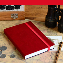 Great quality luxury top layer leather material vintage leather cover notebook
