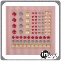 make pony bead crafts dot match up rubber stamp