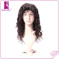 Accept Paypal Spring Curl Human Cheap Hair Lace Front Wigs For Asia Women