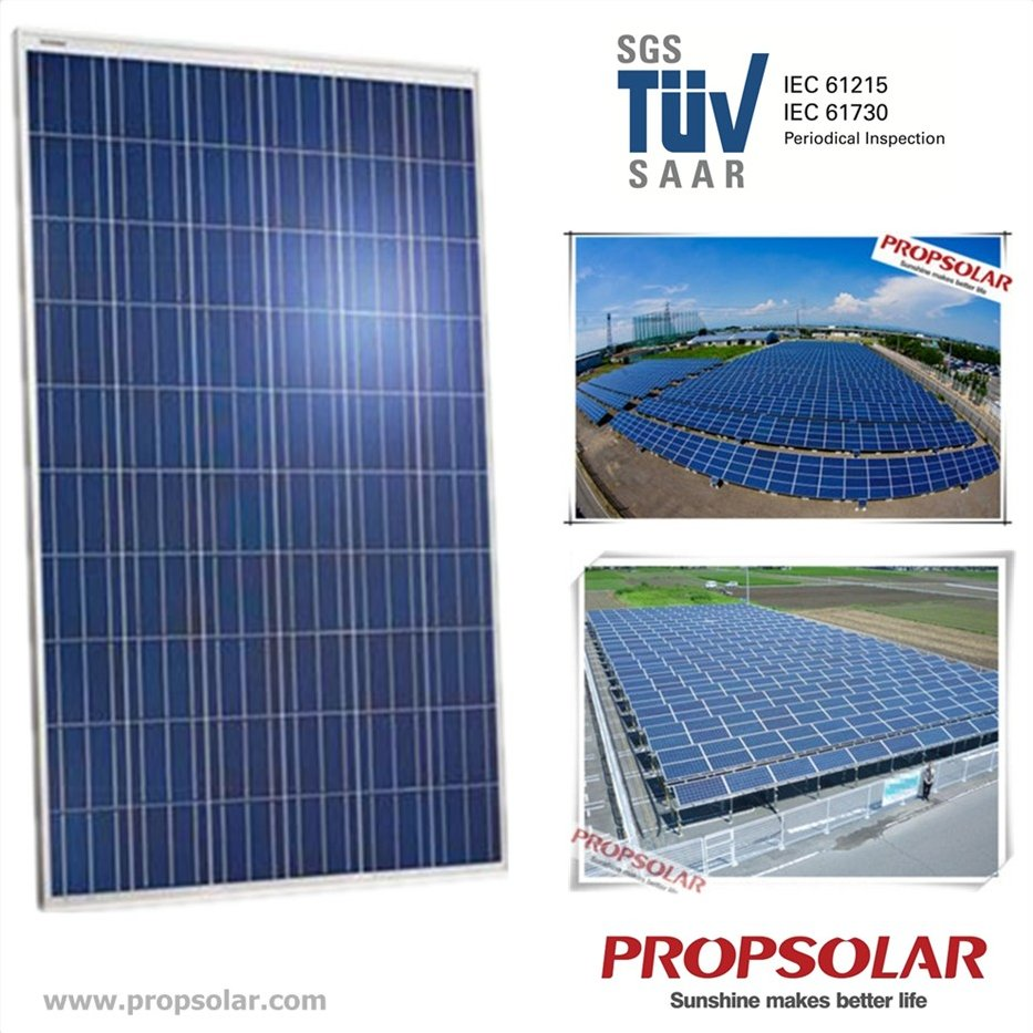 Cheap Solar Panel Price 250W With 25 Years Warranty For Solar Home System