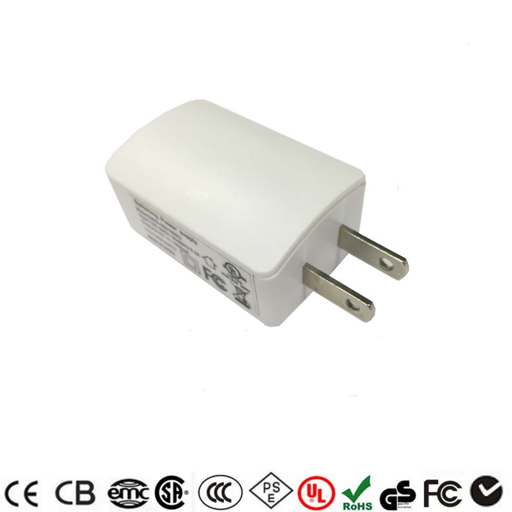 Free Sample wall mounted usb charger 5V 6V 9V 12V 1A USB Adapter
