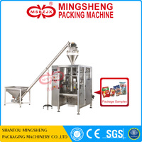 JX027 Fully automatic gusseted bag powder packaging machine flour packing machine for paper bag