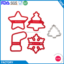 Custom Silicone Cookie Biscuit Cutter