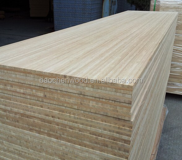 Bamboo plywood sheet cross laminated