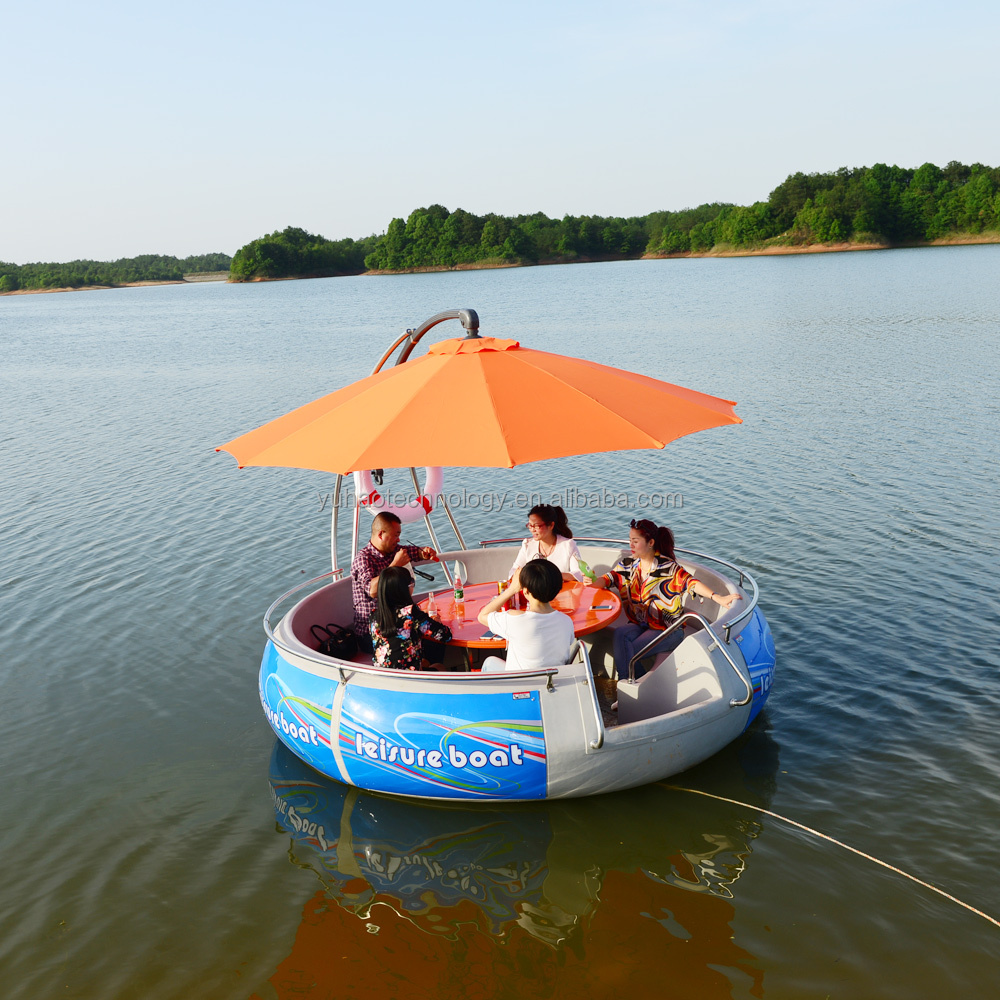 Ce Certified Leisure Electric Bbq Donut Boat For Sale - Buy Bbq ...
