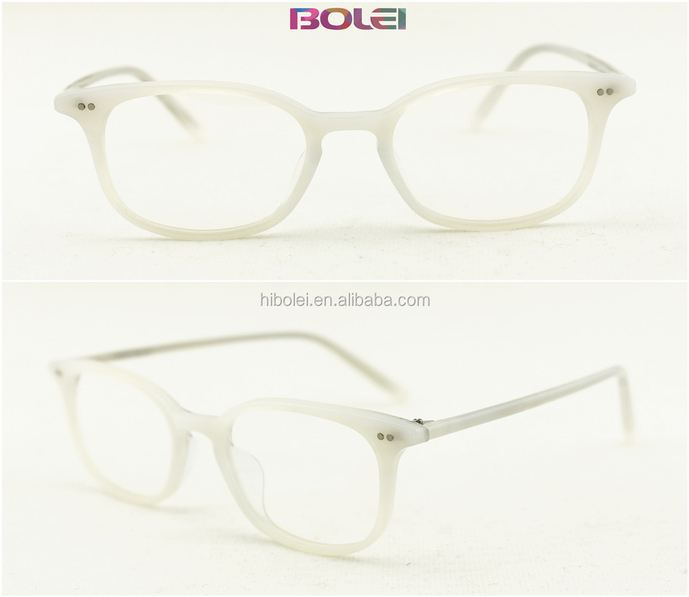 super light hande made acetate buffalo horn optical frames