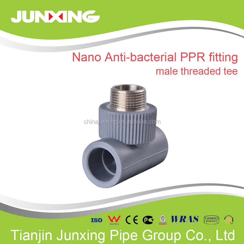 ppr threaded pipe fitting elbow reducer tee cap flange