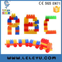 Hot New Products For 2016 cube puzzle Building Block For Promotion children plastic building blocksconstruction toys