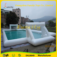 Hot sale!!! new product inflatable water soap soccer field/inflatable soccer court/water football game arena