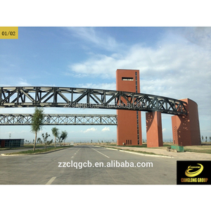 steel structural prefabricated bridge for sale