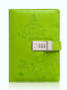 PU Leather 3D Press Code Notepad