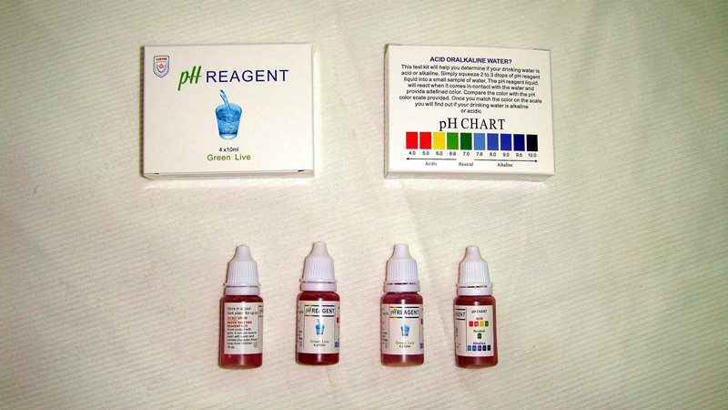 ph test water kit/knit