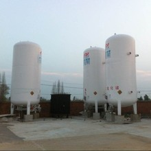 15M3 Stainless steel Cryogenic Liquid Gas Storage Tank,Liquid O2 N2 CO2 vertical gas container with ASME certificate