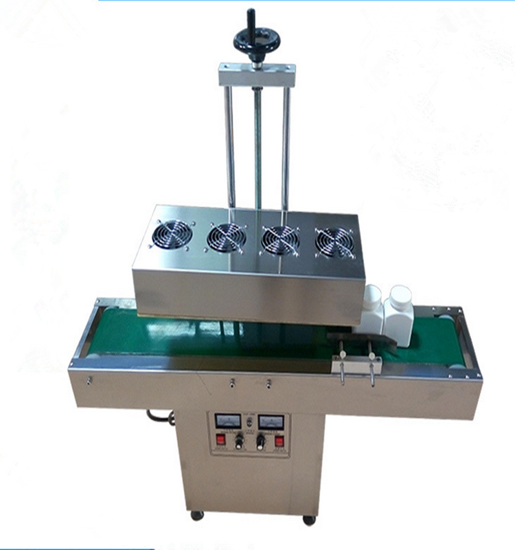 Table type automatic induction aluminum foil sealing machine