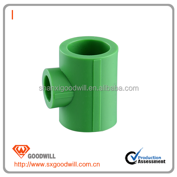 20mm-110mm Green color PPR equal 90 elbow with high quality