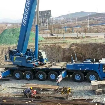 High Quality Used TMS1600 160 Ton Truck Crane For Sale With Cheap Price