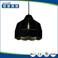 The European style simple large black chandelier