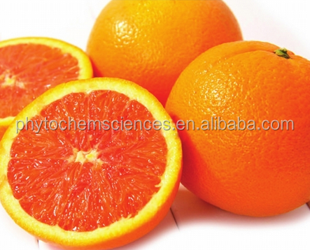 100% Natural Blood Orange Extract ,Citrus Sinensis P.E. Powder