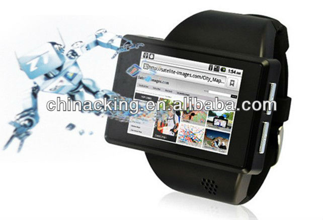2013 new 2 inch touch screen Android 2.2 Watch Phone For Sale