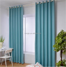 2017 100% polyester Factory Hot Sale Mat Blackout Fabric Curtain