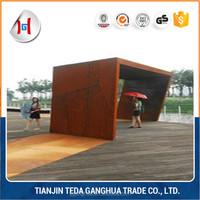 decorative metal screen patterns corten steel sheet /coil