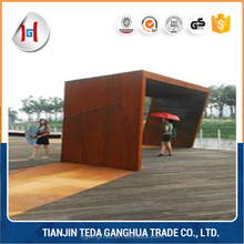 decorative metal screen patterns corten steel sheet /coil