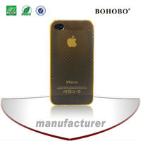 2014 new product for iphone 4s 0.35mm heat sink PC case/cover
