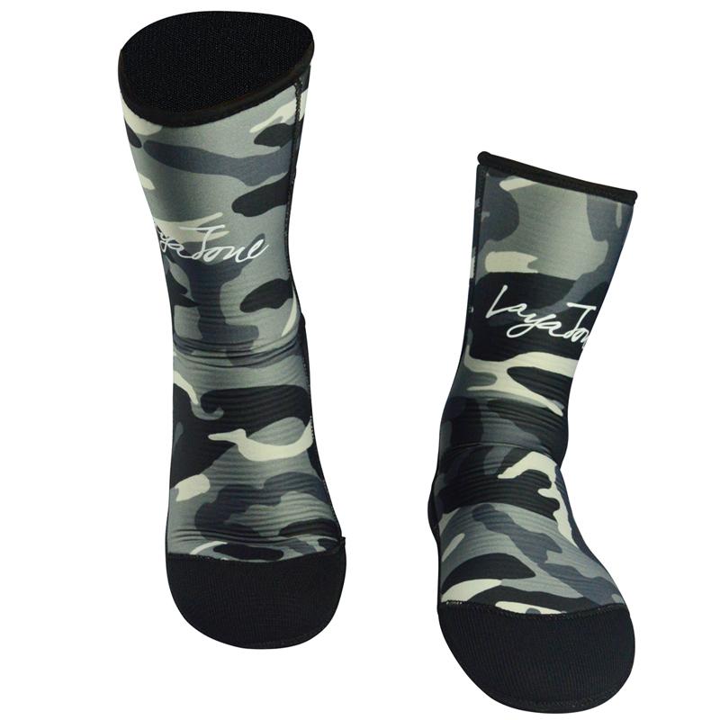 men's women's 7mm neoprene diving socks for winter fishing underwater hunting spearfishing scuba diving 04