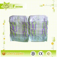 Leakage protection non woven fabric wood pulp disposable baby print adult diaper