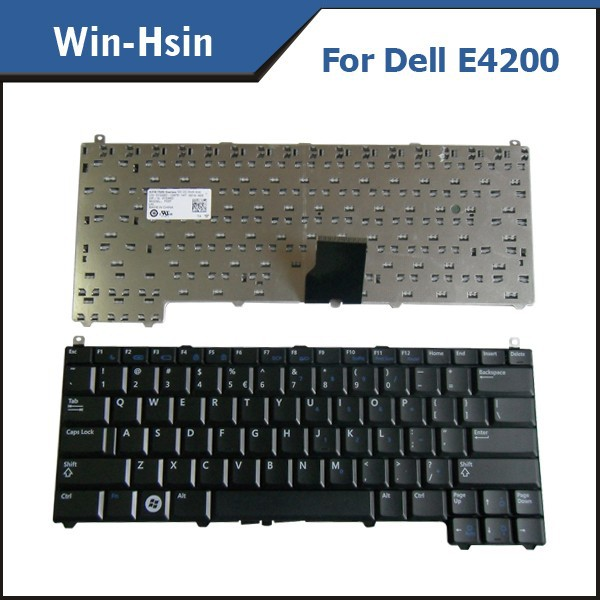 For Dell e4200 e4300 e4310 keyboard, Brand New US laptop keyboard for Dell e4200