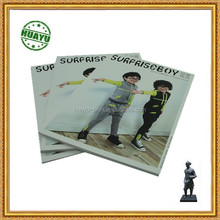 Cool boys style book printing in white glossy cover and solid paper from Chinese supplier