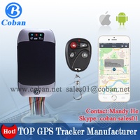Vehicle Car GPS Trackers Long Battery Coban gps car tracker TK303G with Strong GPS&GSM signal