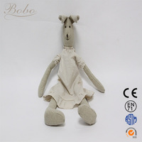 2014 New Design Custom Made Soft Animal Gift Toys Plush Bunny Rabbits