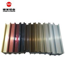 Electrophoresis Coating Finished Aluminium Extrusion Profile Price