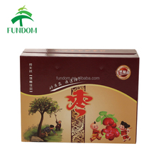 made in china high quality fashionable factory price custom printing cereal box packaging with logo