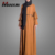Modest Fashion Muslim Maxi Dress Hot Elegant Flare Sleeve Indonesia Islamic Clothes Dubai Abaya