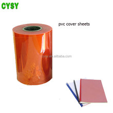 Flexible transparent pvc clear sheet in roll. pvc thin plastic sheet