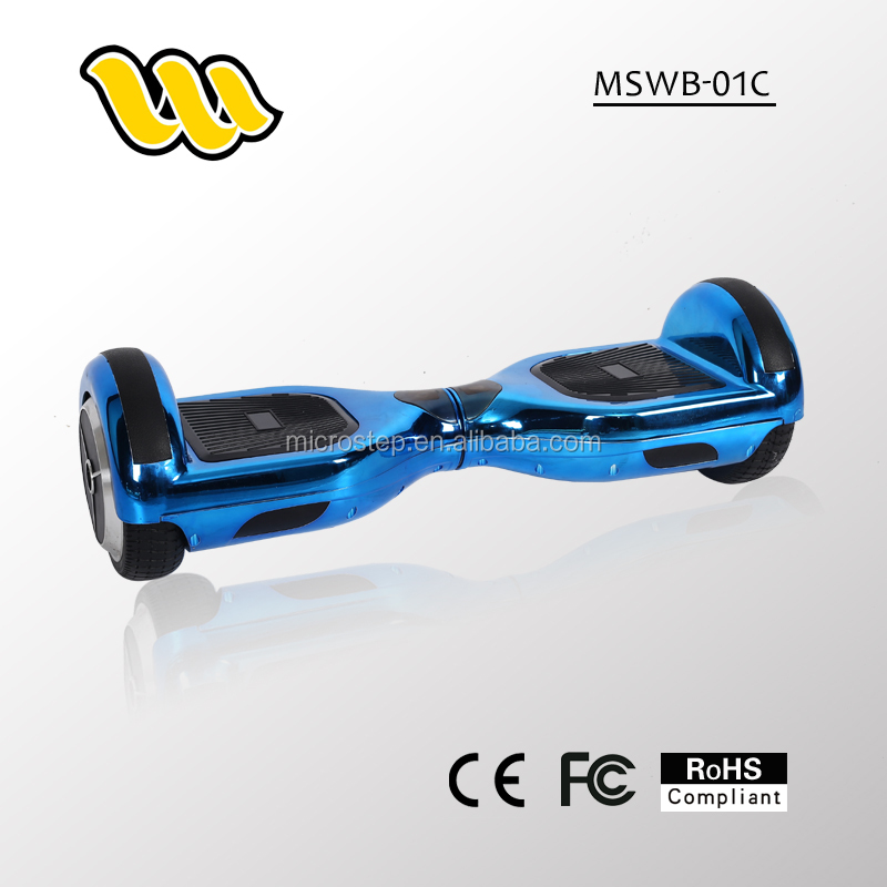 2016 Mini two wheel UV meterial self balance electric scooters and cheap Electric scooter from manufacture