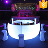 Modern LED bar counter design/ round bar counter design